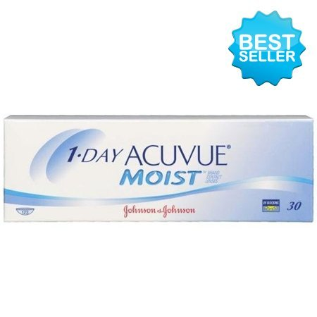 1-Day Acuvue MOIST with Lacreon - 30 Lenses